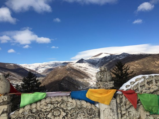 Wutai County, China: the view from the peak