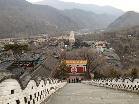 Wutai County, China: another flight of stairs