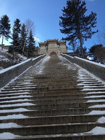 Wutai County, China: more stairs