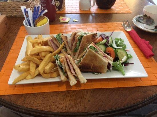 Wincanton, UK: Club sandwich
