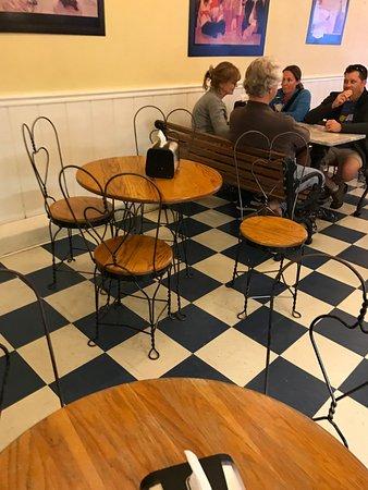 Denton, TX: Victorian iron chairs