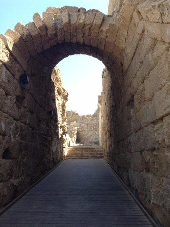 Cesarea, Israel: Ruins at Caesarea National Park