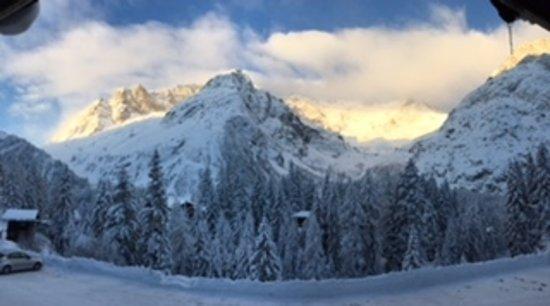 La Fouly, Suiza: la vue