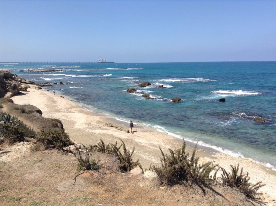 VIew of the Mediterranean Sea from Caesarea National Park