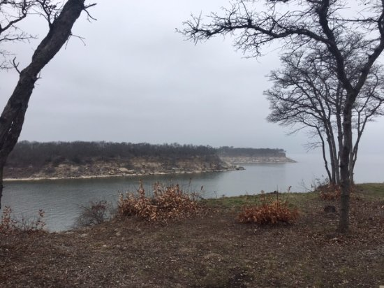 Denison, TX: View from the top of Elm Point Camping Area
