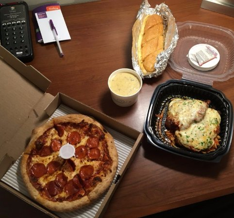 Wyoming, MI: My take out order from Monelli's