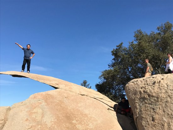 Poway, CA: The gap you need to jump.