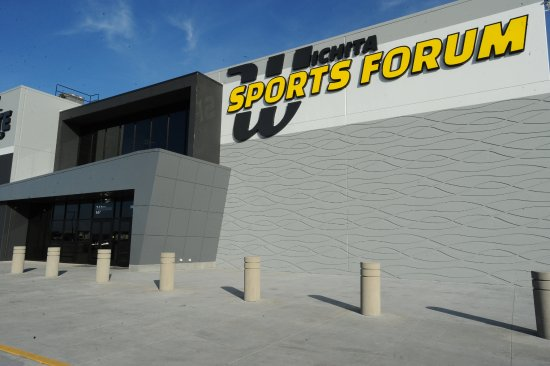 Wichita Sports Forum, home of Aviate Extreme Air Sports Trampoline Park