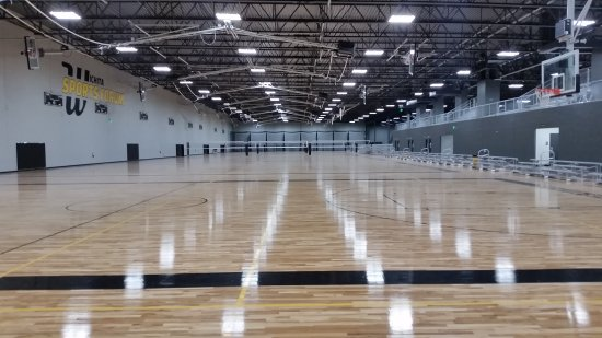 Wichita Sports Forum Home Of Aviate Extreme Air Trampoline Park 6 Basketball Courts
