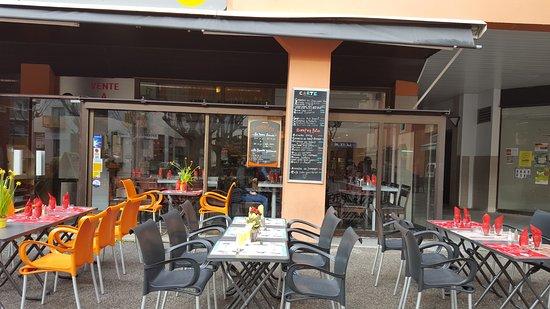 Valbonne, Γαλλία: La terrasse