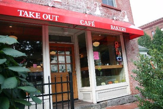 Northampton, MA : The Cafe entrance