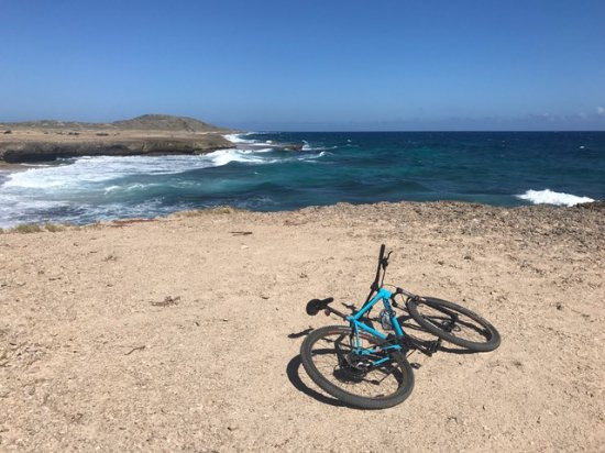 Santa Cruz, Aruba: Riding trails in the north