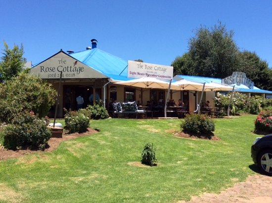Dullstroom, Afrika Selatan: het restaurant