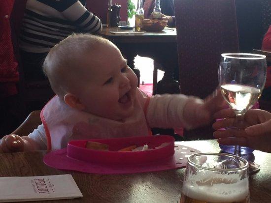 Caerleon, UK: I will get your wine Mama one day