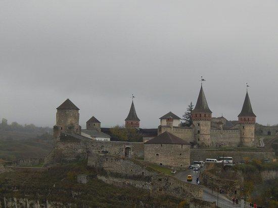 Kamianets-Podilskyi, Ucrania: Вид на крепость