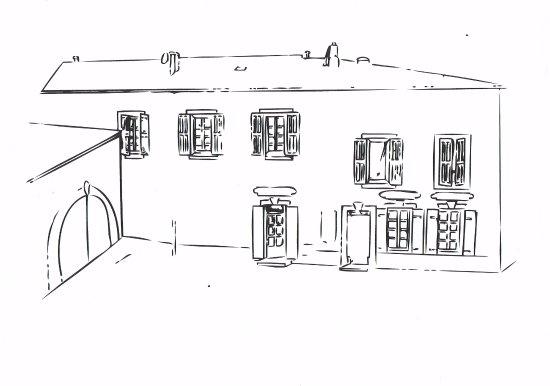 Rognes, Frankrike: Le dessin de notre Biscuiterie