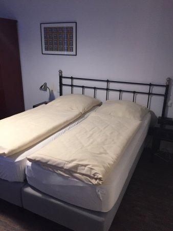 Heldts Hotel: Zimmer in der ehemaligen Schlosserei