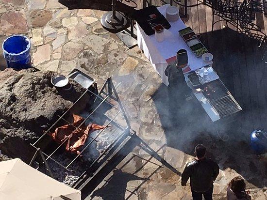 Hotel Coral & Marina: Sunday buffet roasting lamb