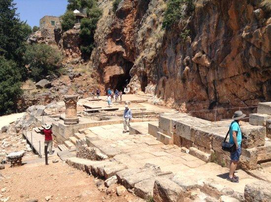 Merom Golan: Ruins of Temple of Pan