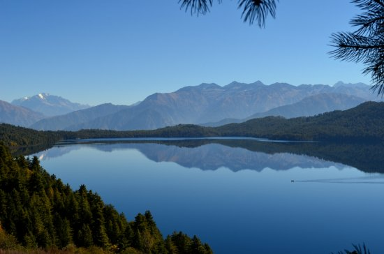 Rara Lake lies in western part of Nepal Himalayan belt into Rara National park.  Nepal Nature tr