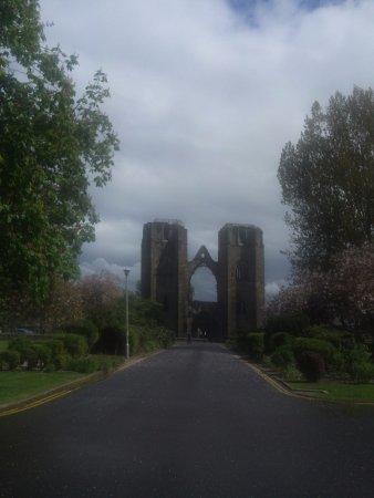 Elgin, UK: towards west door