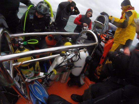 Falmouth, UK: Boat dive