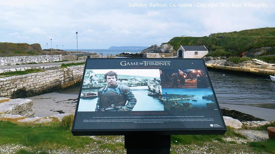Ballintoy, UK: Even if you're not a fan, it's worthy of a stop