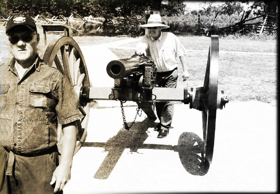 Gettysburg National Military Park: Ryggskott !