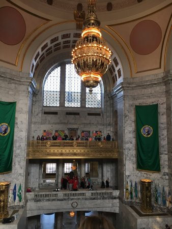 ‪Washington State Legislative Building Tour‬