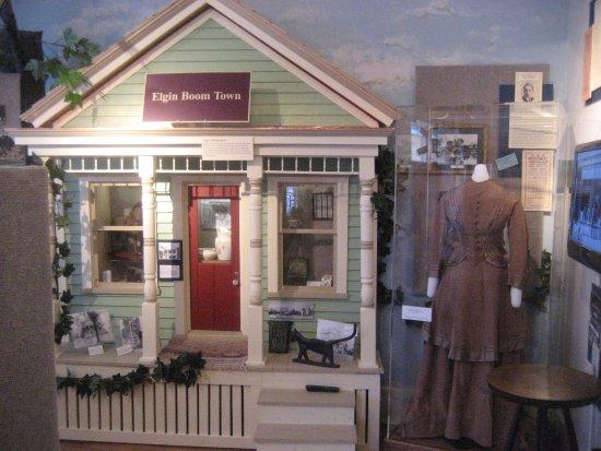 River to Rail exhibit: 1870-1910 (1st floor) Experience Elgin's building boom!