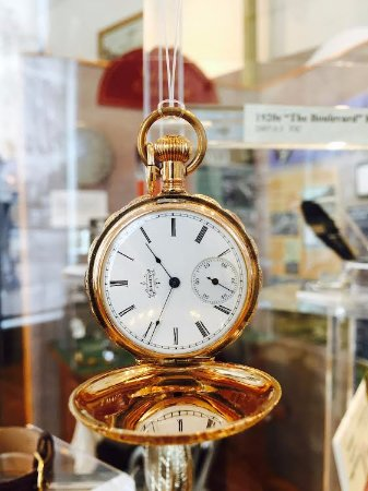 Elgin kept the world on time! Come visit the Elgin National Watch Company exhibit (2nd floor)