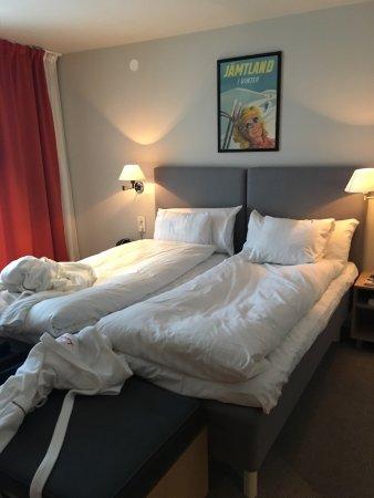 Are, İsveç: Udsigten fra hotelværelset