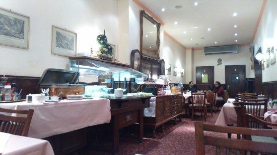 Bismarck Hotel: завтрак
