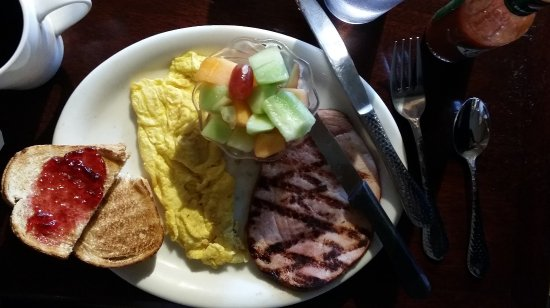 Castle Rock, CO: Ham and Eggs Breakfast YUM!!!!