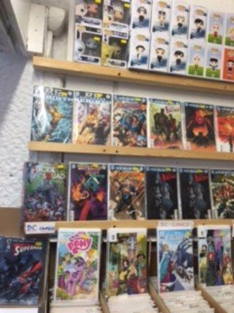 St Austell, UK: New comics and Pops!