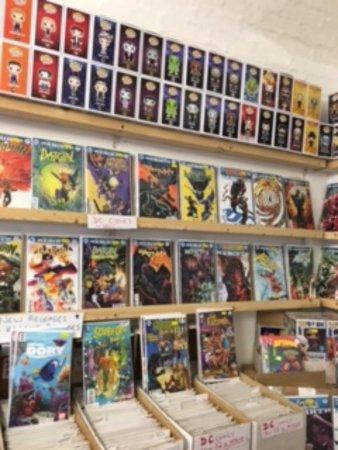 St Austell, UK: New DC comics and Pops!