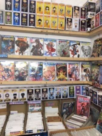 St Austell, UK: New Comics and Pops!
