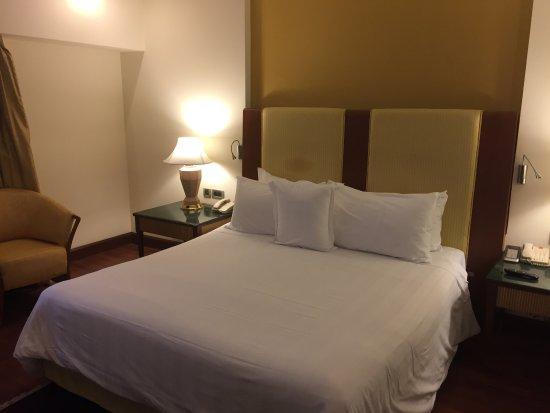 آي تي سي موغال أجرا: Lovely bed!!