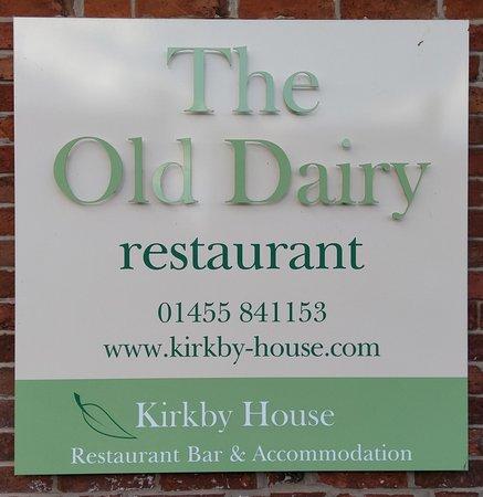 Kirkby Mallory, UK: Outside Sign