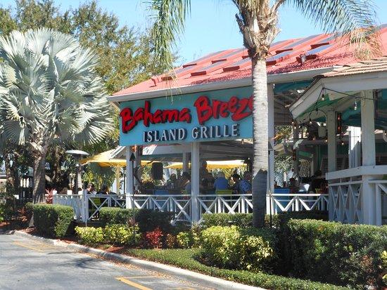Shows Bahama Breeze restaurant