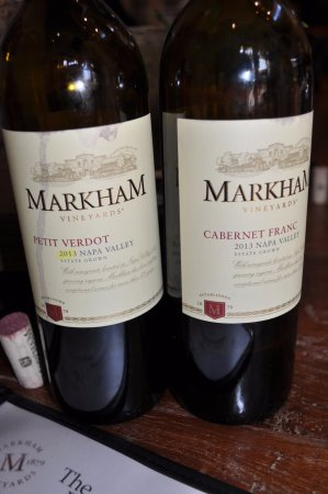 St. Helena, CA: Petit Verdot and Cab Franc - not commonly found