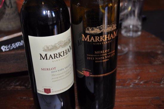 St. Helena, CA: Merlot side-by-side tasting