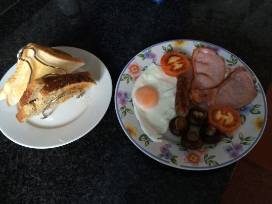 Great Bardfield, UK: Delicious Cooked Breakfast