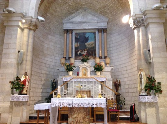 Kfar Cana, Israël : Sanctuary of Wedding Church