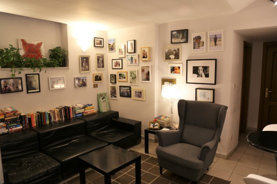 The Beehive: Lounge area