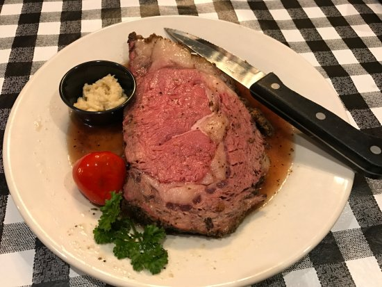 Cedar Falls, IA: Smoked Prime Rib available on weekends.