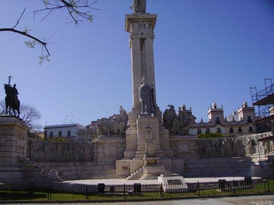 Monumento A Las Cortes Picture Of Monumento A La Constitucion De