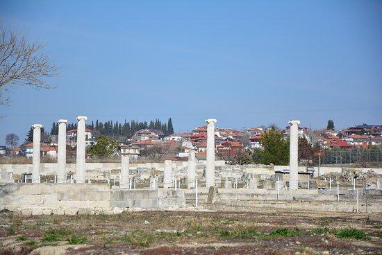 Central Macedonia, Hellas: Αρχαιολογικός χώρος Πέλλας