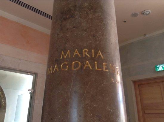 Migdal, Israel: Mary Magdalene Pillar