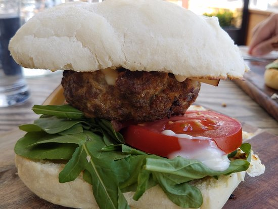 CBK Craft Bar & Kitchen Rotorua: Wagyu Beef Burger